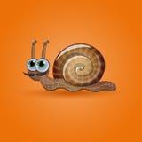 funny male snail. Stock Photos