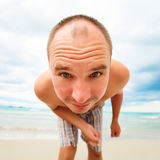 Funny man Royalty Free Stock Photos