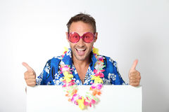 Funny man Stock Images