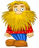 Funny man with beard Royalty Free Stock Image