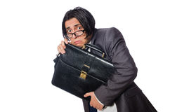 The funny man in business concept Royalty Free Stock Photography