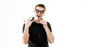 Funny man Royalty Free Stock Images