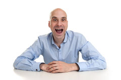 Funny man Royalty Free Stock Photo
