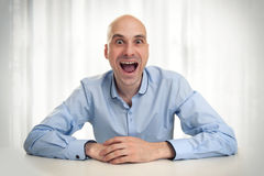 Funny man Stock Photos