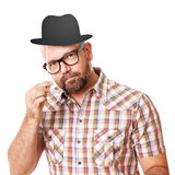 Funny man Stock Photography