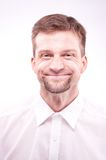 Funny man smiling Stock Photography