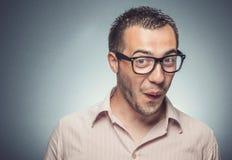 Funny man Stock Image