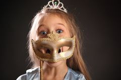 Funny mask Royalty Free Stock Images
