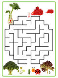 Funny maze game for Preschool Children. Stock Images