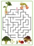 Funny maze game for Preschool Children Stock Images