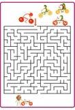 Funny maze game for Preschool Children Royalty Free Stock Photo
