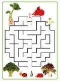 Funny maze game for Preschool Children. Stock Photography