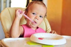 Funny meal Stock Photography