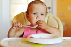 Funny meal Royalty Free Stock Photos