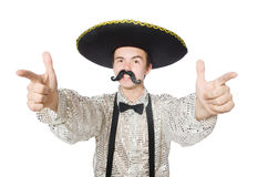 Funny mexican Stock Image