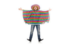 Funny mexican isolated on white Stock Photo