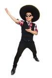 Funny mexican with sombrero Stock Photos