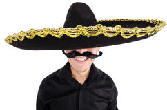 Funny mexican Royalty Free Stock Image