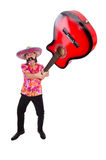 Funny mexican Stock Photo