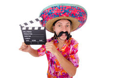 Funny mexican Royalty Free Stock Photos