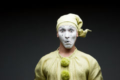 Funny mime Stock Images
