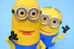 Funny minions: Kevin and Dave Royalty Free Stock Photography