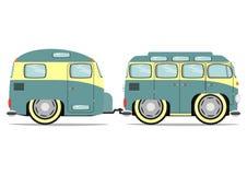 Funny minivan. Stock Images