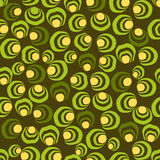 Funny model background. Background pattern in shades of green Royalty Free Stock Images