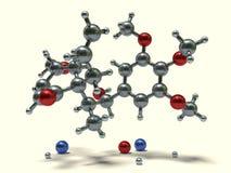 Funny Molecules - Megaphone Stock Images