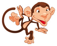 Funny monkey Stock Images