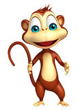 Funny  Monkey cartoon character Royalty Free Stock Images