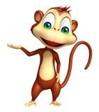 Funny  Monkey cartoon character Stock Photo