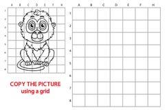 Funny monkey game. Royalty Free Stock Photos