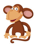 Funny monkey. Illustration of a funny monkey Royalty Free Stock Images