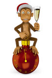 Funny monkey Royalty Free Stock Photo
