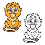 Funny monkey. Stock Photos