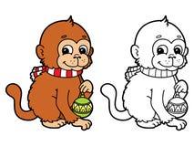 Funny monkey. Stock Photography