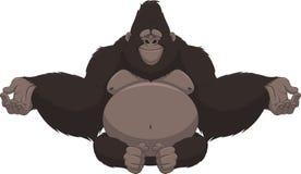 Funny monkey Stock Image