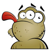 Funny Monster. An illustrated cartoon of a funny monster Stock Photography