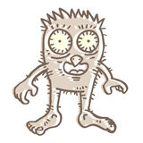 Funny monster Royalty Free Stock Photo