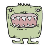 Funny monster Royalty Free Stock Photos