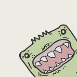 Funny monster Royalty Free Stock Image