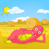 Funny Monster. vector illustration