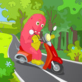 Funny Monster. Royalty Free Stock Images