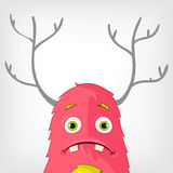 Funny Monster. Royalty Free Stock Photography