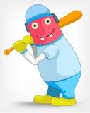 Funny Monster. Baseball. Stock Image