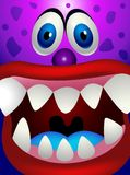 Funny monster cartoon Stock Image