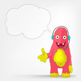 Funny Monster. Communication. Stock Images