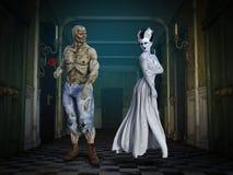 Funny Monster Couple, Love, Frankenstein