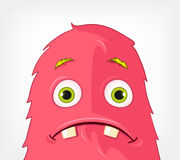 Funny Monster. Engry. Stock Photography
